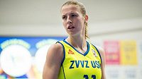Basketbalistka Kateřina Elhotová.