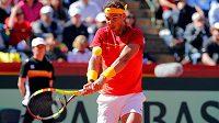 Rafael Nadal se vrátil na kurty při Davis Cupu.