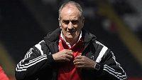 Francesco Guidolin ještě coby trenér Swansea.
