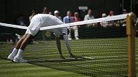 Nick Kyrgios v prvním kole Wimbledonu. Ve druhém vyzve na centrkurtu Nadala.
