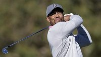 Tiger Woods na snímku z ledna 2017.