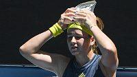 Další senzační obrat předvedla na Australian Open česká tenistka Karolína Muchová.