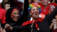 Fanoušci Tuniska se radují z postupu fotbalistů na MS.