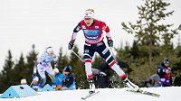 Norská běžkyně na lyžích Therese Johaugová na SP v Lillehammeru.