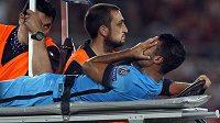 Pro barcelonského útočníka Rafinhu zřejmě předčasně skončila sezóna.