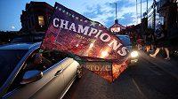 Mistři! Liverpool ovládl nejvyšší anglickou fotbalovou soutěž po 30 letech.