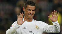 Radost Cristiana Ronalda, právě jeho trefa rozhodla slavné El Clásico.
