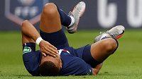 Kylian Mbappé bude kvůli zraněnému kotníku zhruba tři týdny mimo hru.