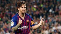 Ani dvě trefy Lionela Messiho nezachránily Barcelonu od prohry s Betisem Sevilla.
