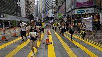 Maratón v Hongkongu, který proběhl 25. ledna