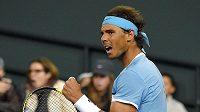 Rafael Nadal na turnaji v Indian Wells.