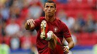 Cristiano Ronaldo na Poháru FIFA v Rusku.