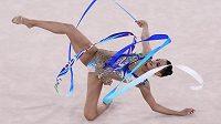 Izraelská moderní gymnastka Linoy Ašramová