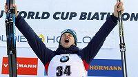Sprint biatlonistů v americkém Soldier Hollow vyhrál Nor Vetle Sjaastad Christiansen a radoval se z prvního vítězství ve Světovém poháru v kariéře.