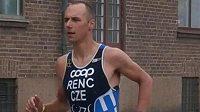 Český triatlonista Tomáš Řenč
