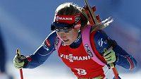Česká biatlonistka Gabriela Soukalová obsadila v závodu s hromadným startem ve slovinské Pokljuce čtvrté místo.