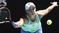 Světová tenisová jednička Ashleigh Bartyová.
