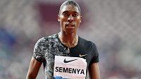 Caster Semenyaová vyhrála na Diamantové lize v Dauhá svou poslední osmistovku před zavedením pravidla o hormonální léčbě.
