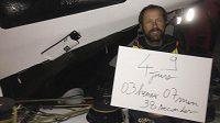 Francouzský jachtař Thomas Coville po obeplutí zeměkoule-