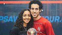 Egyptský squashista Tarek Momen se stal poprvé mistrem světa.