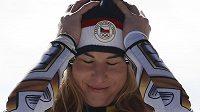 Nevěřícně se tvářila Ester Ledecká ještě dlouho po dojezdu olympijského závodu v super-G.