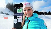 Rakouská snowboardistka Claudia Rieglerová.