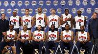 Dvanáctka vyvolených amerických basketbalistů pro olympijský turnaj.