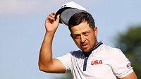 Olympijský turnaj v golfu vede i po třetím kole Američan Xander Schauffele
