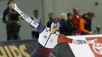 Rychlobruslařka Martina Sáblíková překonala na mistrovství světa v Salt Lake City světový rekord na trati 5000 metrů. Zajela čas 6:41,182. Jenže poté jí překonala Natalia Voroninová v čase 6:50,39.