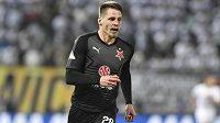 Finále fotbalového poháru MOL Cupu: Baník Ostrava - Slavia Praha, 22. května 2019 v Olomouci. Lukáš Masopust ze Slavie.
