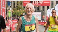 Ed Whitlock - vždy s úsměvem na líci a rekordem v tabulkách.