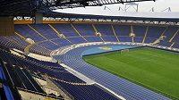 Na moderním stadióně v Charkově se Ligu mistrů v této sezóně určitě hrát nebude.
