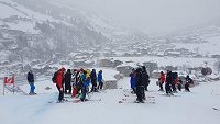 Superobří slalom Světového poháru v Saalbachu ohrožuje nepřízeň počasí.