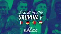 Účastníci ME 2020 – Skupina F