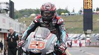 Francouzský jezdec Fabio Quartararo dojel ve Velké ceně Japonska na stupních vítězů.