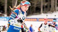 Lucie Charvátová nebude vzpomínat na štafetový závod při SP v Pokljuce v dobrém.
