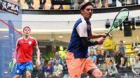 Squashista Jan Koukal opět vyhrál turnaj v Praze, mezi ženami se českým squashistkám nedařilo.