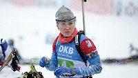 Ruská biatlonistka Margarita Vasiljevová si odpykává dvouletý distanc.