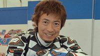 Japonský motocyklista Jošinari Macušita