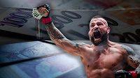 Mezi nejlépe placené zápasníky MMA v Česku patří Karlos Vémola