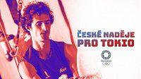 Sportovní lezení si v Tokiu odbude olympijskou premiéru a jedním z favoritů je český závodník Adam Ondra.