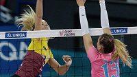 rostějovské volejbalistky prohrály v extralize čtvrtý z pěti zápasů. (ilustrační foto)