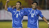 Fotbalisté Salvadoru mají za nekalou manipulaci se zápasy doživotní utrum s profesionálním fotbalem. Na snímku jeden z hříšníků William Osael Romero (vpravo).