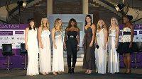 Hvězdy Turnaje mistryň: Jankovičová, Azarenková, Wozniacká, Serena Williamsová, Safinová, Kuzněcovová, Dementěvová a Venus Williamsová.