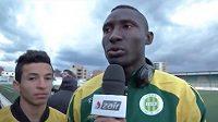 Kamerunský útočník Albert Ebossé přišel o život v důsledku zranění způsobeným při zápase alžírské ligy.