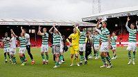 Fotbalisté Celticu získali ve skotské lize osmý mistrovský titul za sebou a jubilejní padesátý v historii.