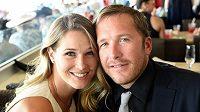 Lyžařská legenda Bode Miller s manželkou Morgan Millerovou.