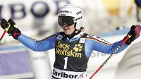 Viktoria Rebensburgová vyhrála druhý obří slalom za sebou.