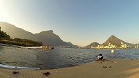 Veslařský a kanoistický areál v Rio de Janeiru.