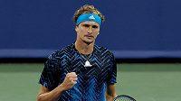 Německý tenista Alexander Zverev si zahraje finále v Cincinnati.